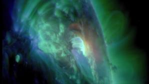 В NASA засняли экстремальную вспышку «солнечного сердца»