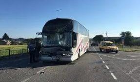 Автобус с детьми попал в ДТП в Башкирии
